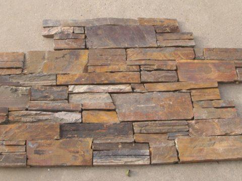 Multicolor Rustic Slate - segmentový obklad