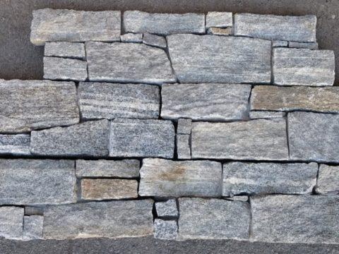 Grey Rustic Stone - segmentový obklad