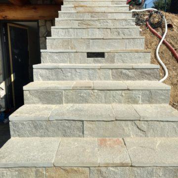 Rula Rusty - schody